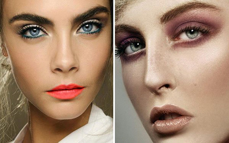 Секрет макияжа для голубых глаз