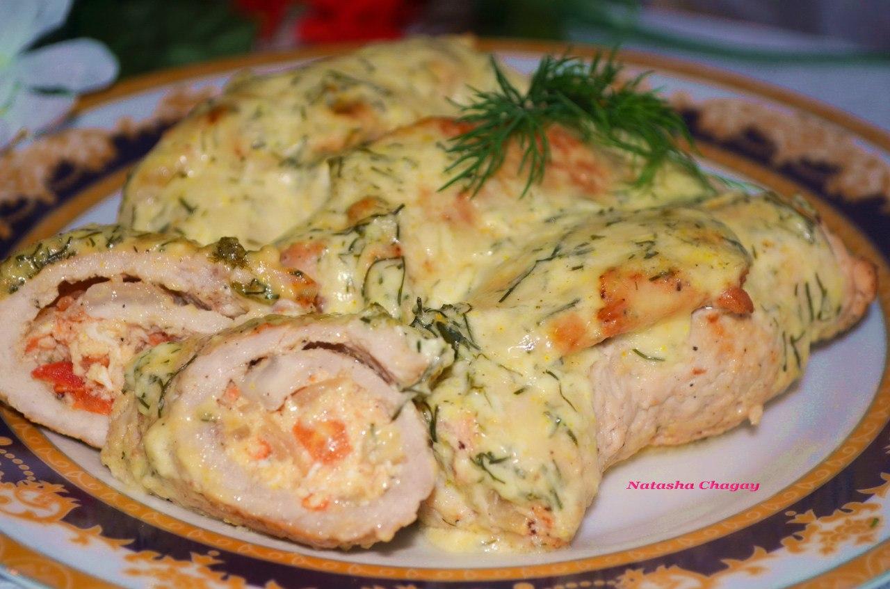 Мясные рулеты с начинкой рецепты пошагово с сыром